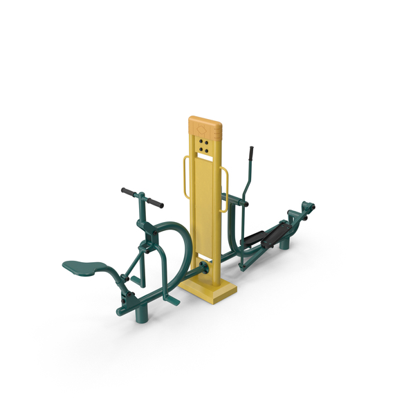 Street Fitness Equipment PNG & PSD Images