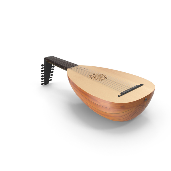 String Instrument Lute PNG & PSD Images