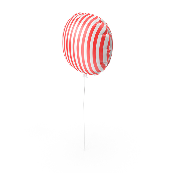 Balloons: Striped Balloon PNG & PSD Images