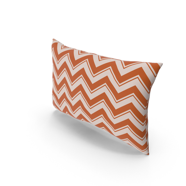 Striped Pillow Object