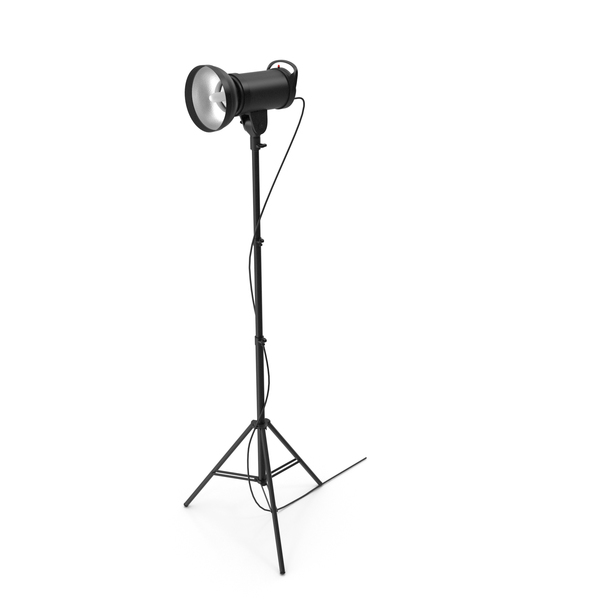 Strobe Studio Monolight Head And Tripod PNG & PSD Images
