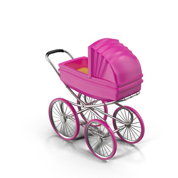 Stroller (Girl) PNG & PSD Images