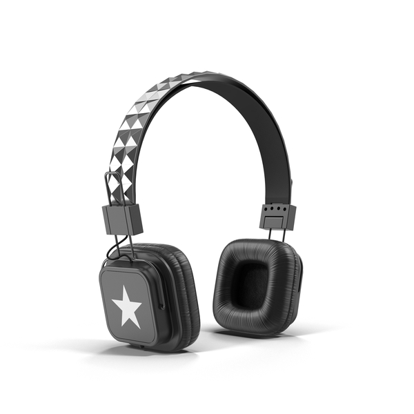 Studded Headphones Object