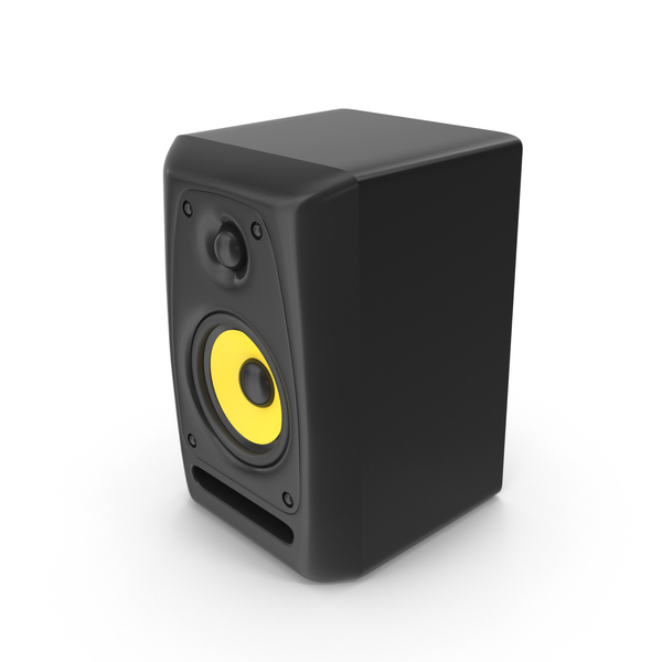 Studio Audio Monitor Speaker Object
