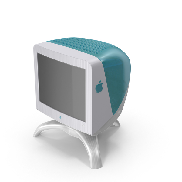 Computer Monitor: Studio Display 17″ CRT PNG & PSD Images