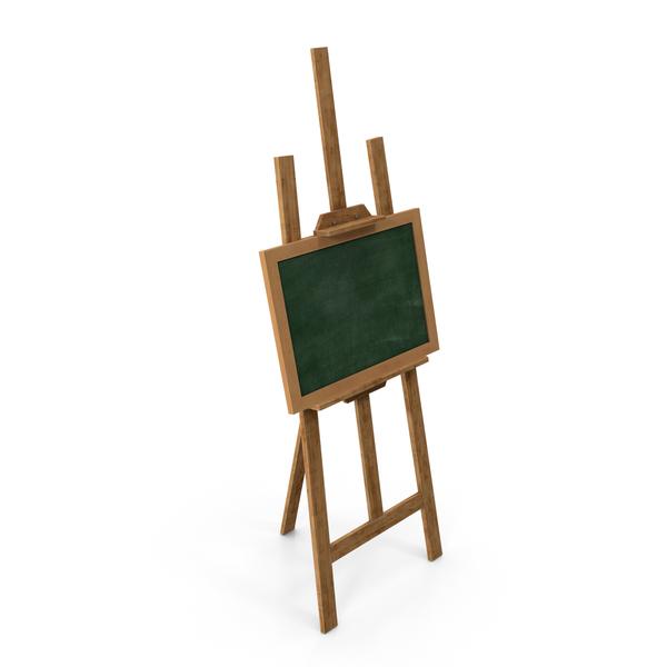 Studio Easel Chalkboard PNG & PSD Images