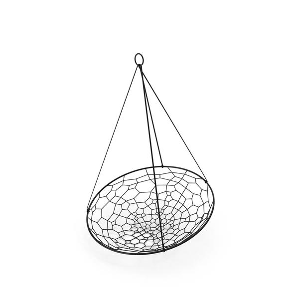 Hanging: Studio Stirling Basket Chair PNG & PSD Images