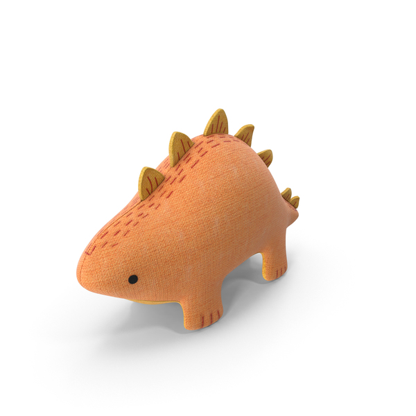 Toy: Stuffed Dinosaur PNG & PSD Images