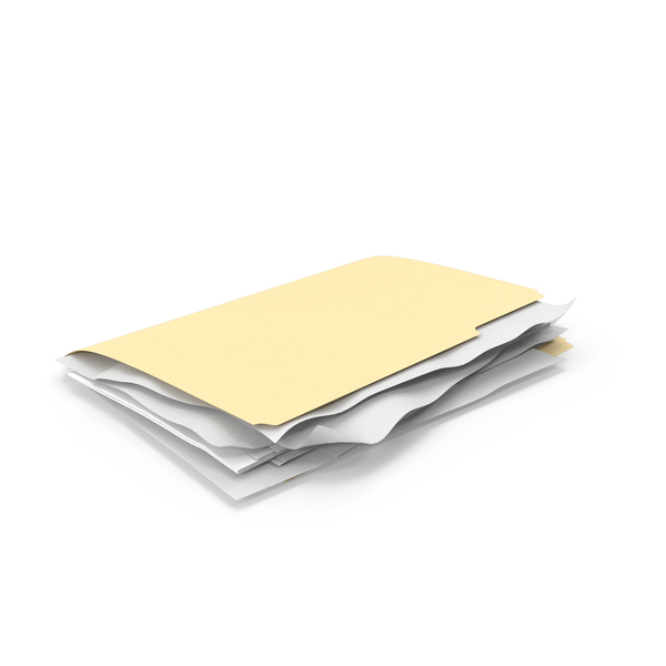 Stuffed File Folder PNG & PSD Images
