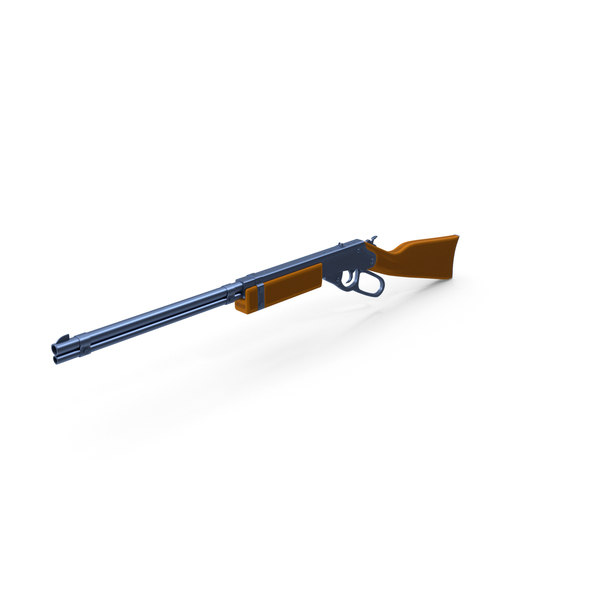 Stylized Cartoon Rifle PNG & PSD Images
