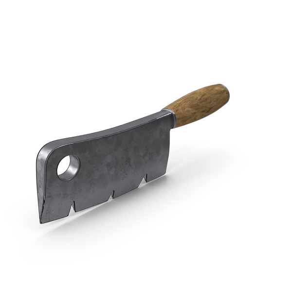 Stylized Cleaver PNG & PSD Images
