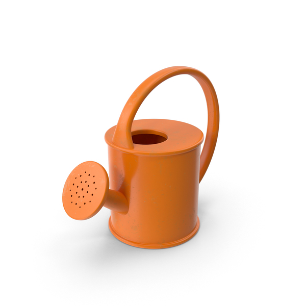 Stylized Watering Can PNG & PSD Images