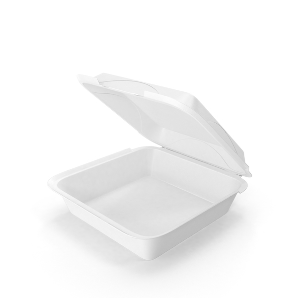 Takeaway Food Container: Styrofoam To Go Box PNG & PSD Images