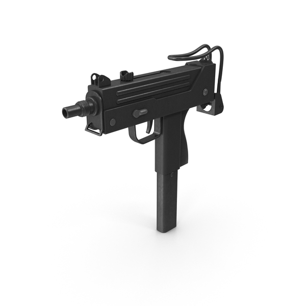Submachine Gun PNG & PSD Images