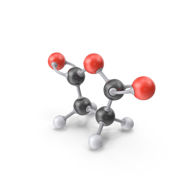Succinic Anhydride Molecule PNG & PSD Images