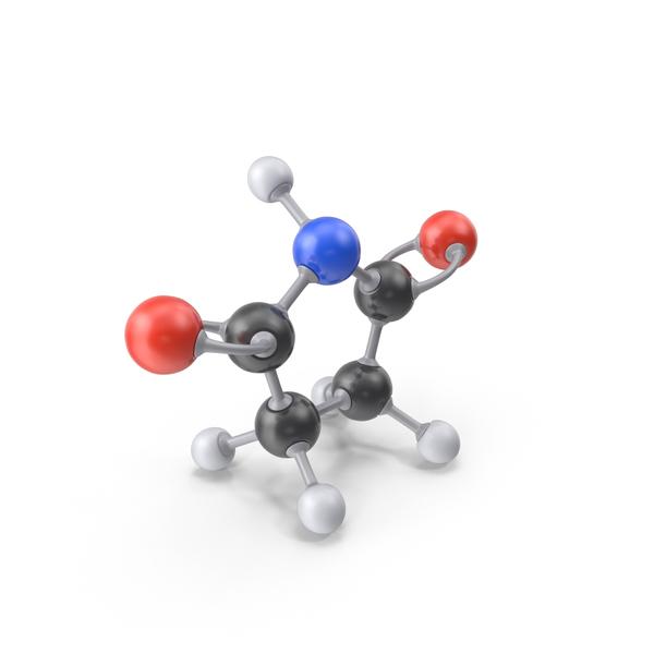 Succinimide Molecule PNG & PSD Images
