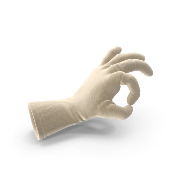 Suede Glove Ok Pose PNG & PSD Images