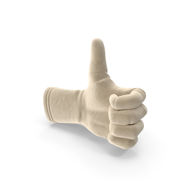 Suede Glove Thumb Up PNG & PSD Images