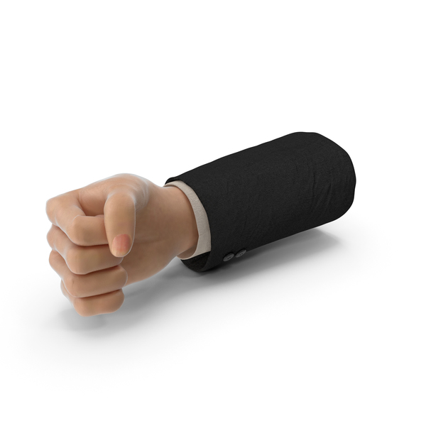 Suit Hand Fist PNG & PSD Images