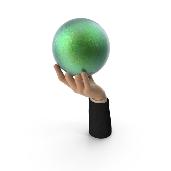 Suit Hand Holding a Bowling Ball PNG & PSD Images