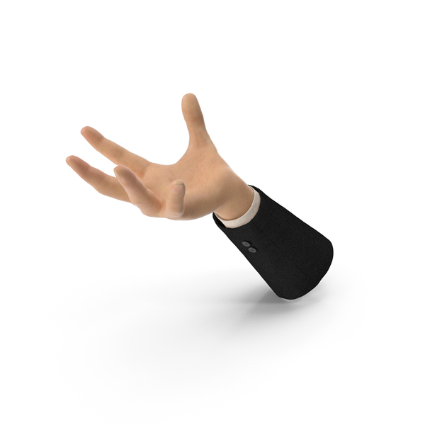 Suit Hand Large Sphere Object Hold Pose PNG & PSD Images