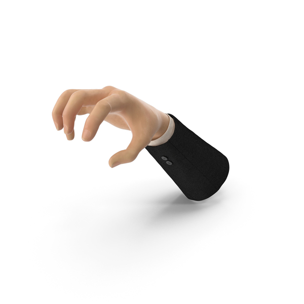Suit Hand Object Grip Pose PNG & PSD Images