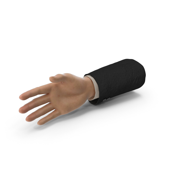 Suit Hand Open PNG & PSD Images