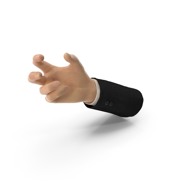 Suit Hand Small Sphere Object Hold Pose PNG & PSD Images