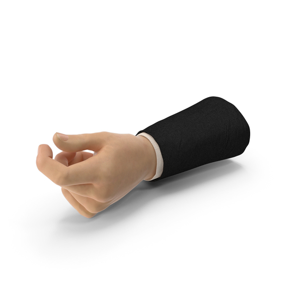 Suit Hand Thumb Object Hold Pose PNG & PSD Images