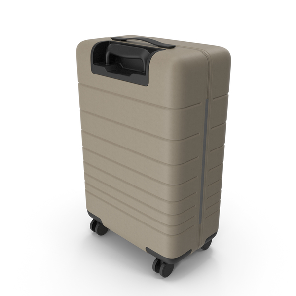Suitcase Beige PNG & PSD Images