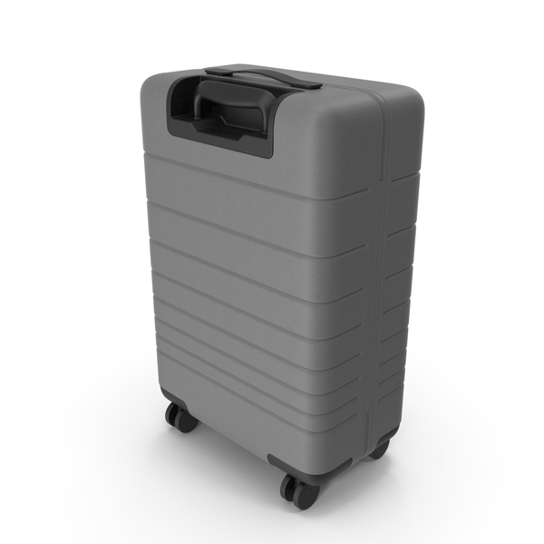 Rolling: Suitcase Gray PNG & PSD Images