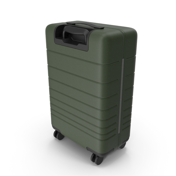 Rolling: Suitcase Green PNG & PSD Images