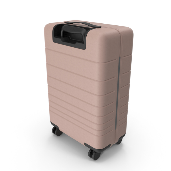 Suitcase Light Pink PNG & PSD Images