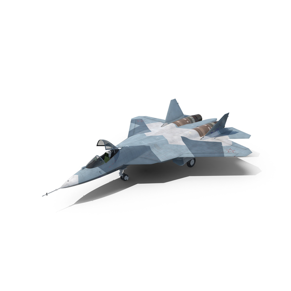Fighter Jet: Sukhoi T-50 PAK FA Object