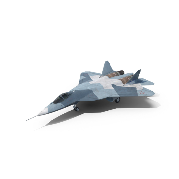 Fighter Jet: Sukhoi T-50 PAK FA PNG & PSD Images