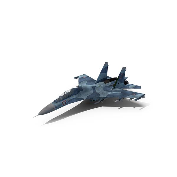 Sukhoy SU-27 UB Flanker PNG & PSD Images