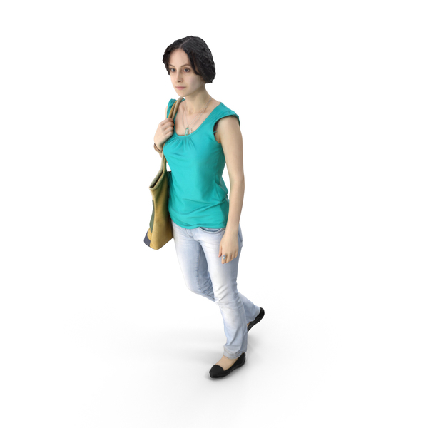 Summer Casual Woman PNG & PSD Images
