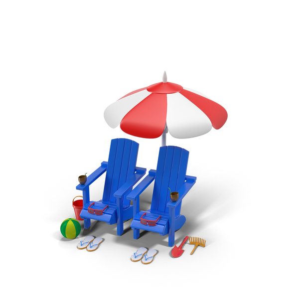 Outdoor Toys: Summer Items PNG & PSD Images