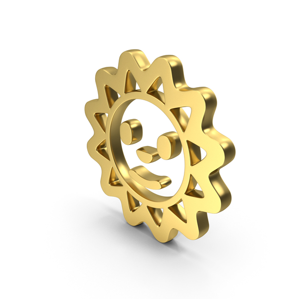 Sun Smile Face Logo Icon PNG & PSD Images