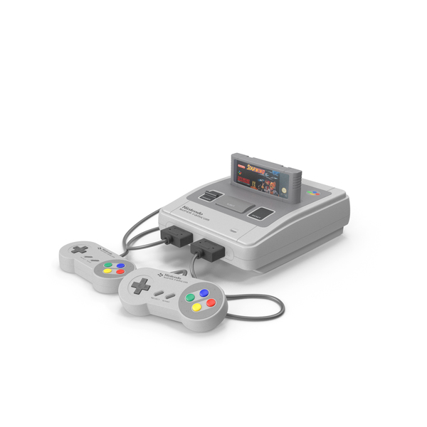 Super Nintendo Entertainment System PNG & PSD Images