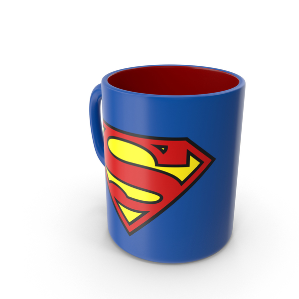 Superman Mug PNG & PSD Images