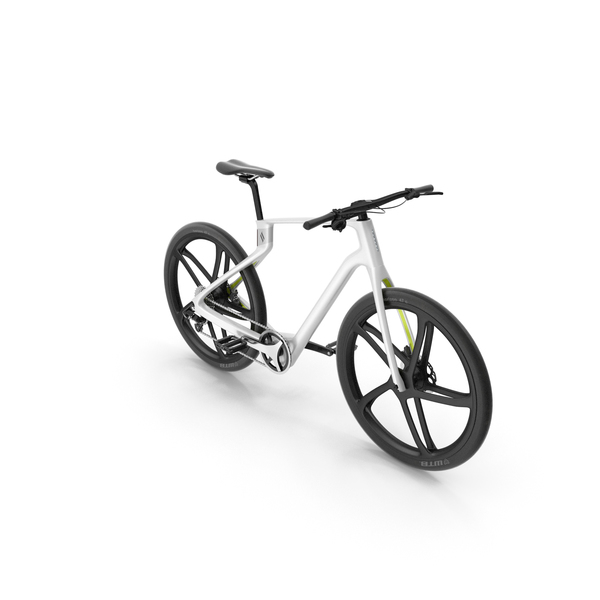 Superstrata E Carbon Electric Bike White PNG & PSD Images