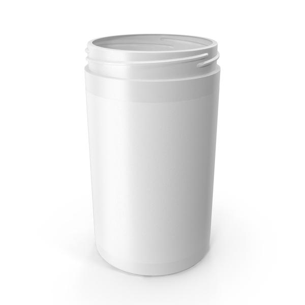 Supplement Jar No Cap PNG & PSD Images