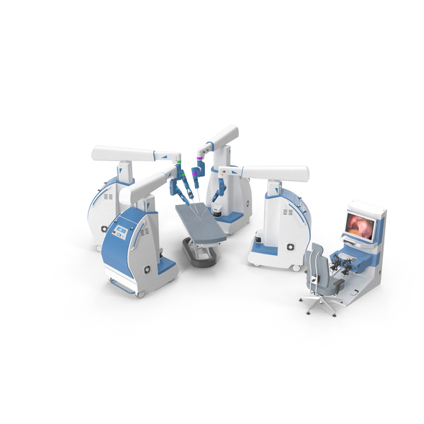 Medical Equipment: Surgical Robot PNG & PSD Images