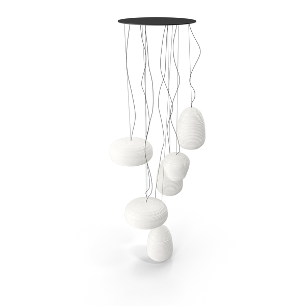Hanging Lamp: Suspension Fixture Foscarini Rituals Multi Sospensione PNG & PSD Images