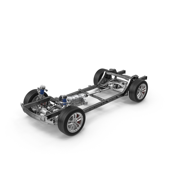 SUV Chassis Frame PNG & PSD Images