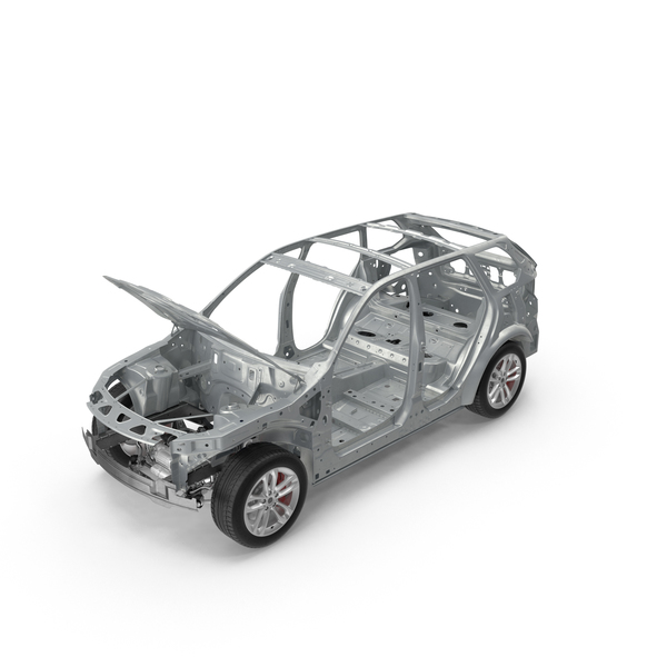 SUV Frame with Chassis PNG & PSD Images