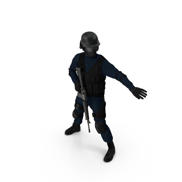 SWAT Officer PNG & PSD Images