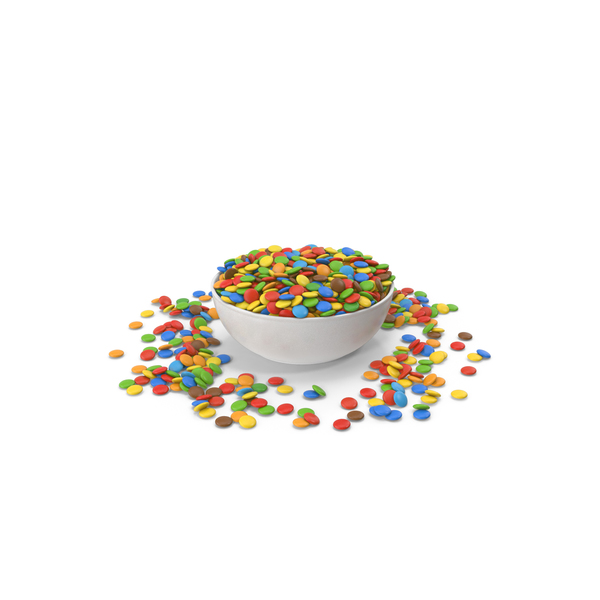 Sweets Candy In Bowl PNG & PSD Images