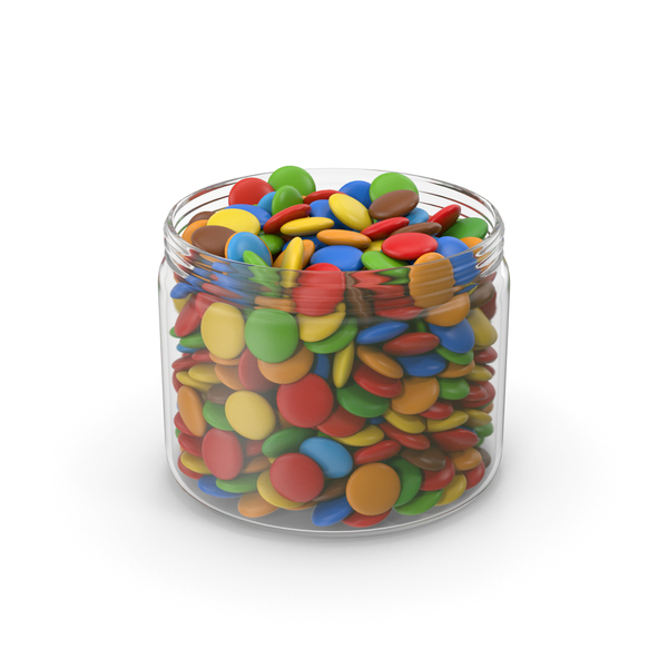 Sweets Candy In Jar PNG & PSD Images